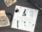 Play by Sephora December box and Ellis James Designs Large Cosmetic Bag