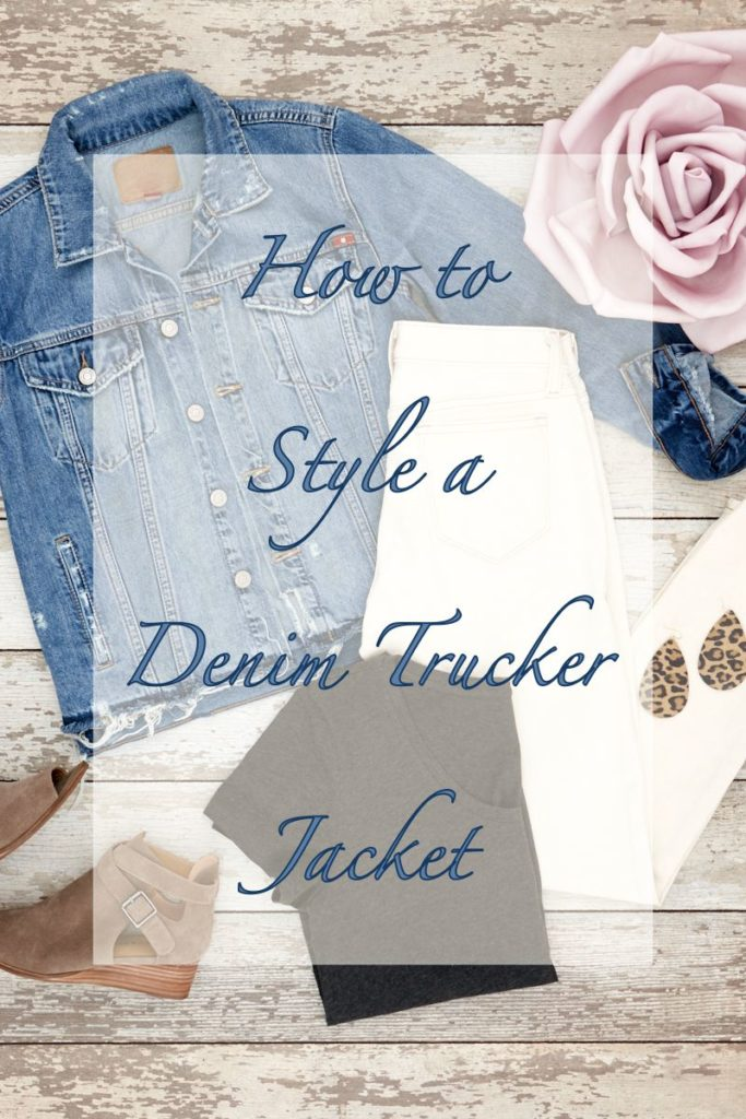 How to Style a Denim Trucker Jacket