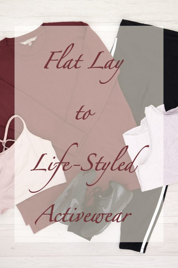 Flat Lay to Life-Styled: Activewear starring Robin the Guide Dog. Activewear outfits and styling tips
