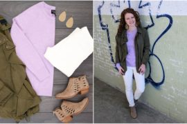Flat lay to Life-Styled Spring Transition Flat lay comes to life
