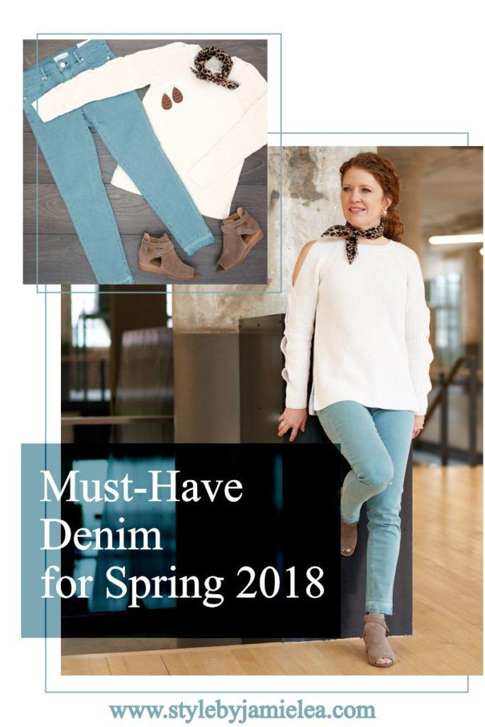 Must-Have Denim for Spring 2018