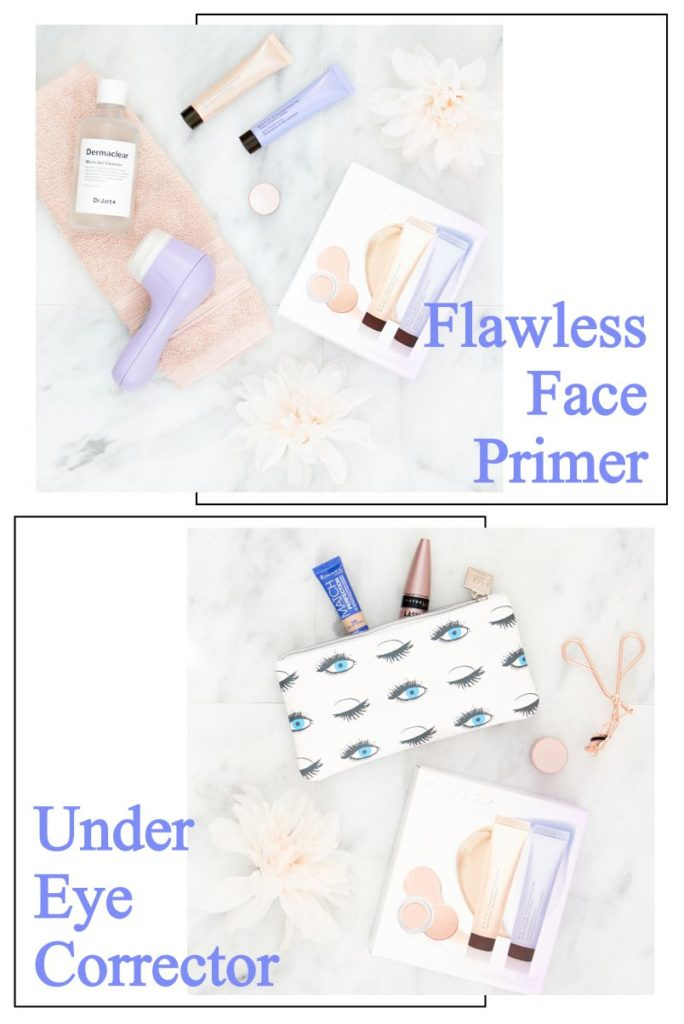 Flawless Finish Face Primers & Under Eye Corrector by Becca Group of all and Jet Set Kit