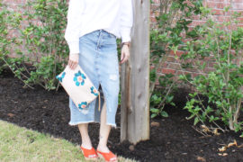 How to Style a Denim Midi Skirt for Spring