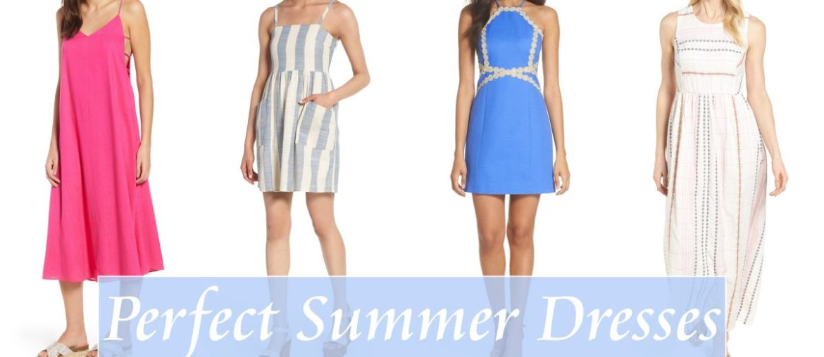 Eighteen Perfect Summer Dresses