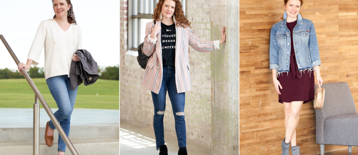 Three Ways to Transition Outfits from Summer to Fall