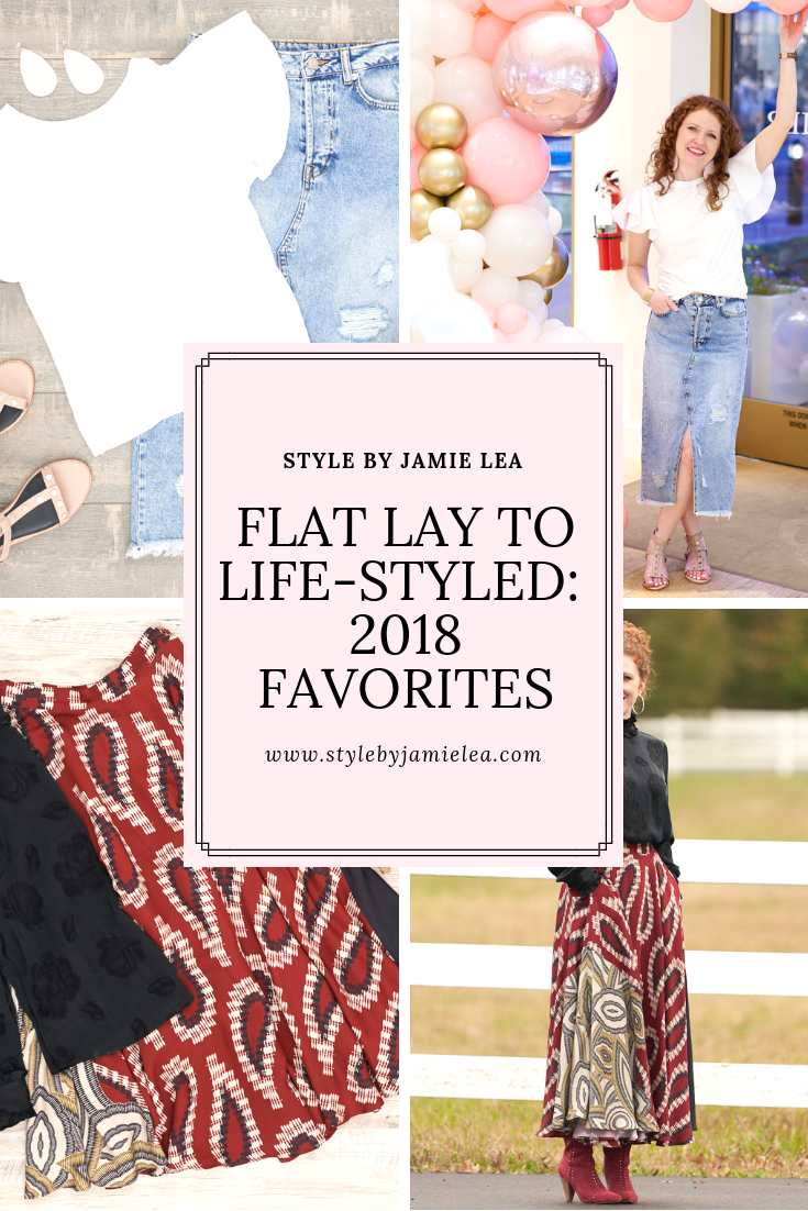 Flat Lay to Life-Styled Post 2018 Favorites