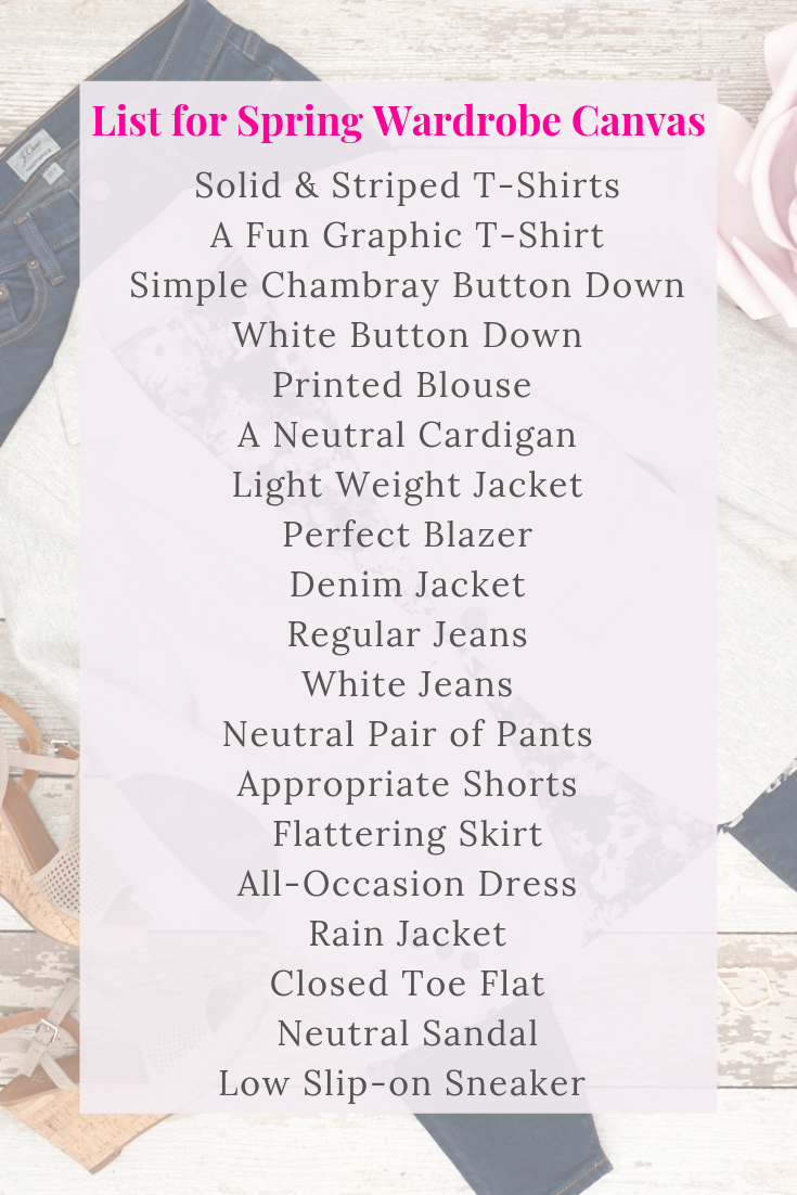 List of 21 Essentials for Spring 2019