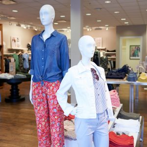 Set of two mannequins in the store