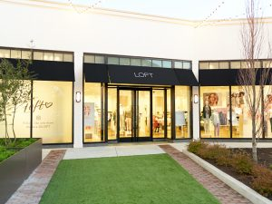 The Front of the Loft Store in Saddle Creek