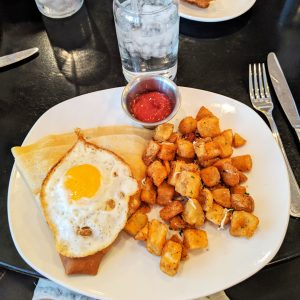 Photo of my awesome breakfast at Montauk