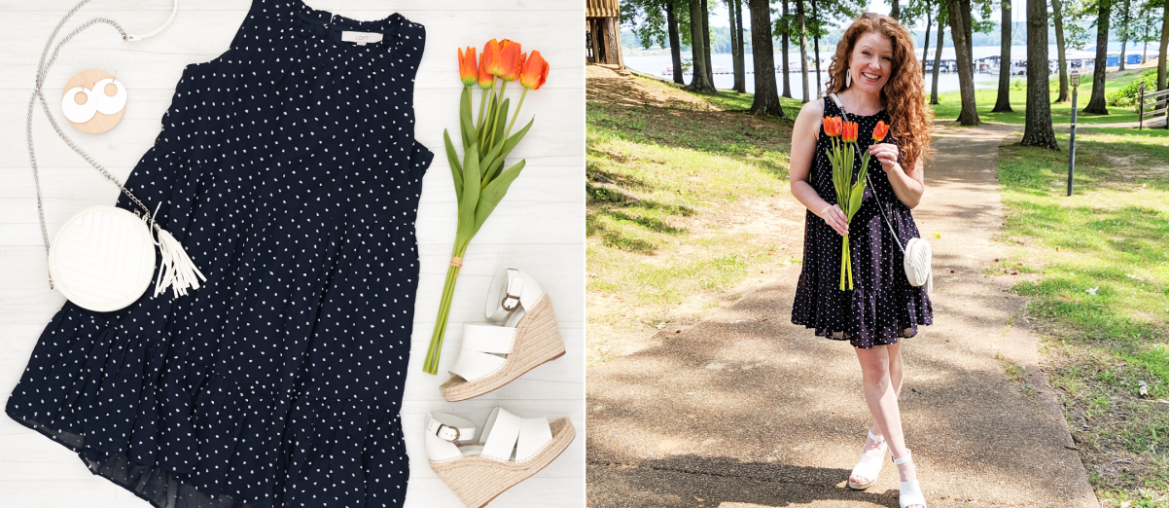 Flat Lay to Life-Styled: Summer Swing Dress