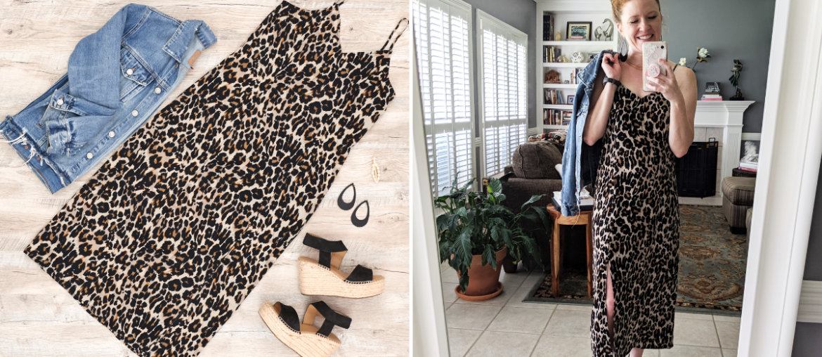 Flat Lay to Life-Styled: Leopard Slip Dress