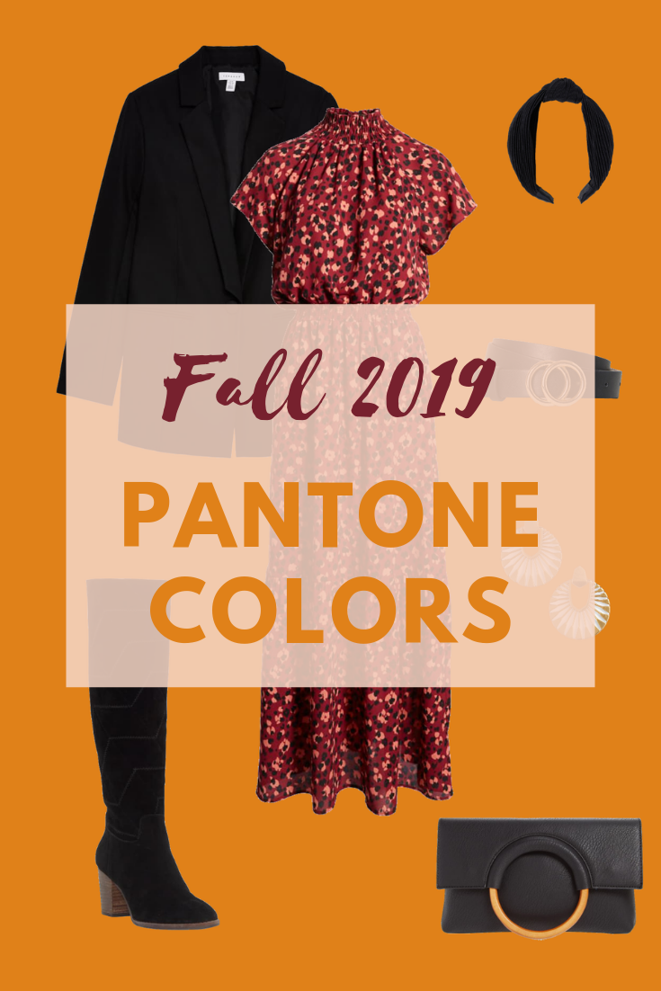 Fall Season 2020.The Liberating Pantone Colors Of Fall Winter 2019 2020