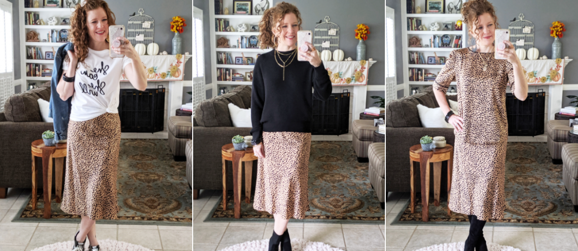How to Style a Slip-On Midi Skirt for Fall