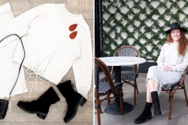 How to Style Mid-Shaft Booties for Fall