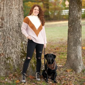 Picture of Jamie and Robin by a Tree at the Park - Wearing OTBT Lakewood Booties