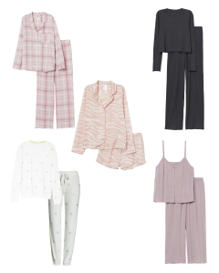 Loungewear and PJS photo collage for Casual Outfit Ideas