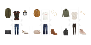Picture of three outfits from Your Guide To Style