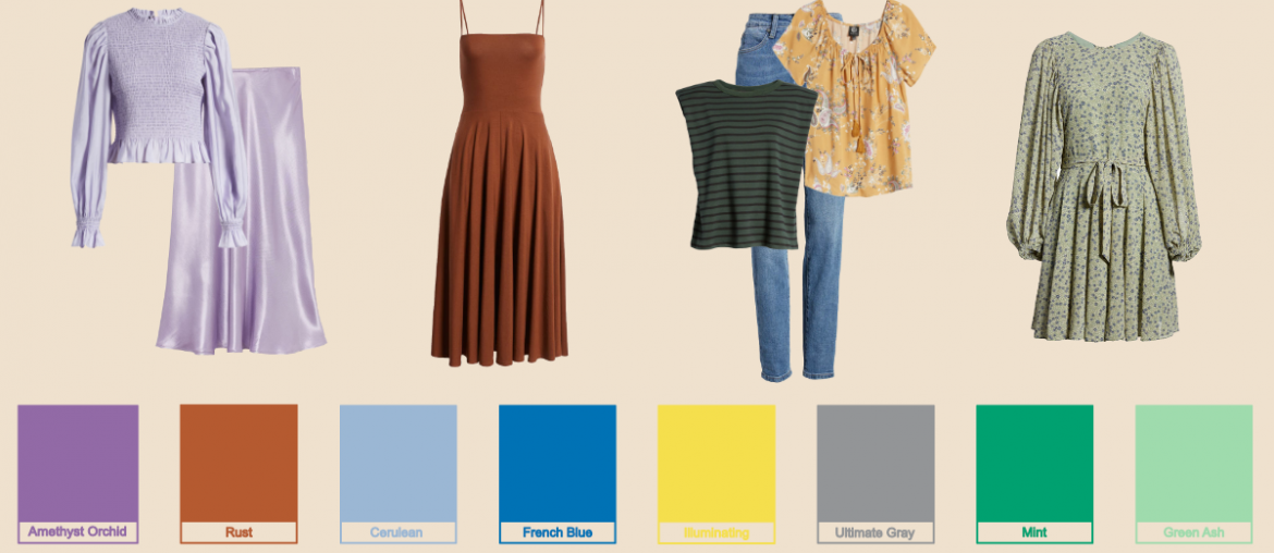 The Uplifting Pantone Color Trends For Spring/Summer 2021