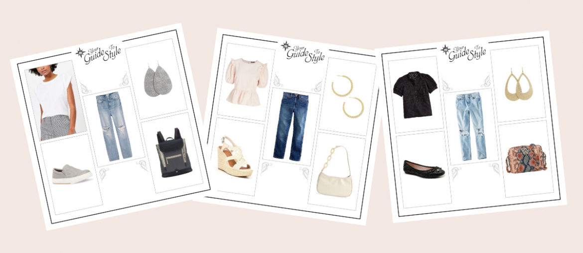 5 Spring Outfits With Straight Leg Jeans