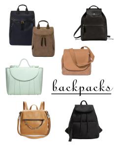 Fall 2021 Handbag Trends Worth Trying - Backpacks