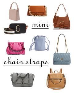 Fall 2021 Handbag Trends Worth Trying - Mini and Chain Strap